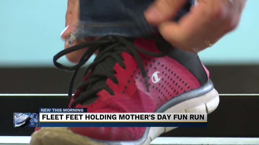 Fleet Feet Mishawaka hosting a 'Mother's Day Fun Run' celebration...